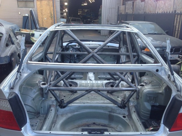 E46 M3 Custom Tig Welded 4130 Roll Cage Pavlov Racing Service